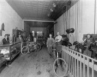 1935 Mills Bros Gun Shop Harley Lathes Front Counter