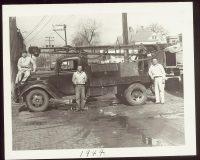 Homer Oscar Rig in Alley 1944